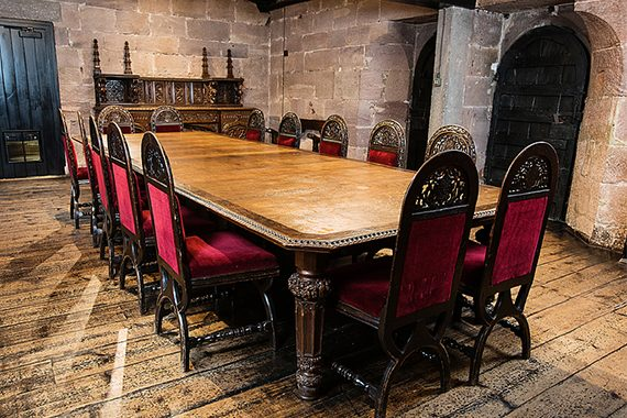 Baronial Dining Room