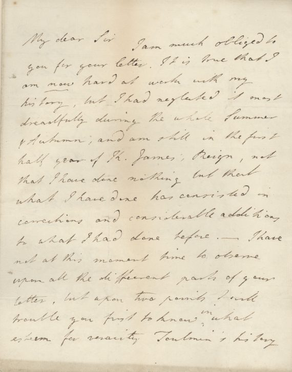 Letter from Fox to Heywood 09.12.1801