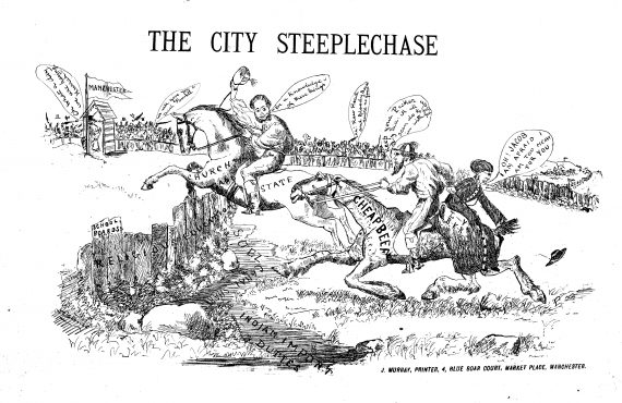 city_steeplechase_bw
