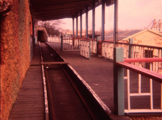 The station on Belle Vue's Scenic Railway